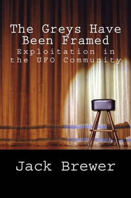 The cover of Jack Brewer's book, 'The Greys Have Been Framed'.
