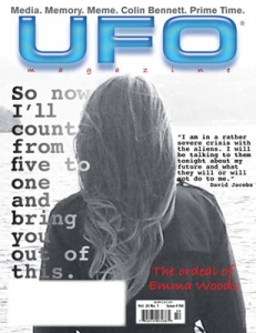 Cover of UFO Magazine