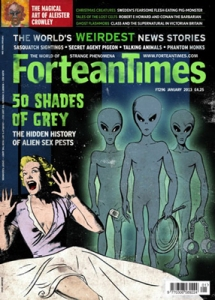 Cover of Fortean Times