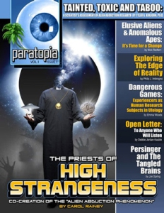 Cover of Paratopia Magazine